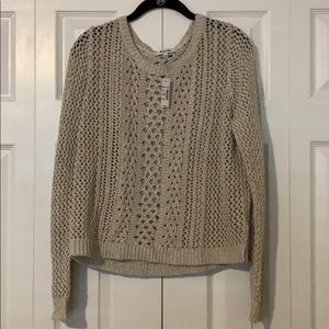 Madewell Crochet Sweater